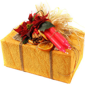 Gift wrapping flower delivery