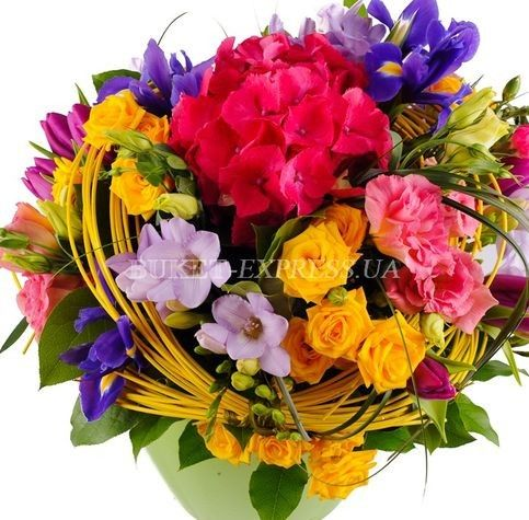 Rainbow mood flower delivery