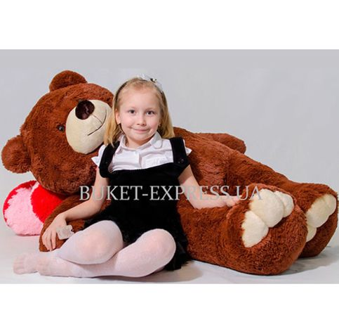 Mr Bear Brown, 160 cm flower delivery