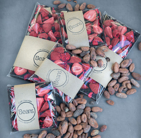 Craft chocolate, 120g flower delivery