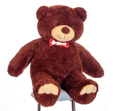 Mr Bear is 110 cm brown flower delivery